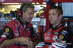 Greg Biffle and crew chief Doug Richert