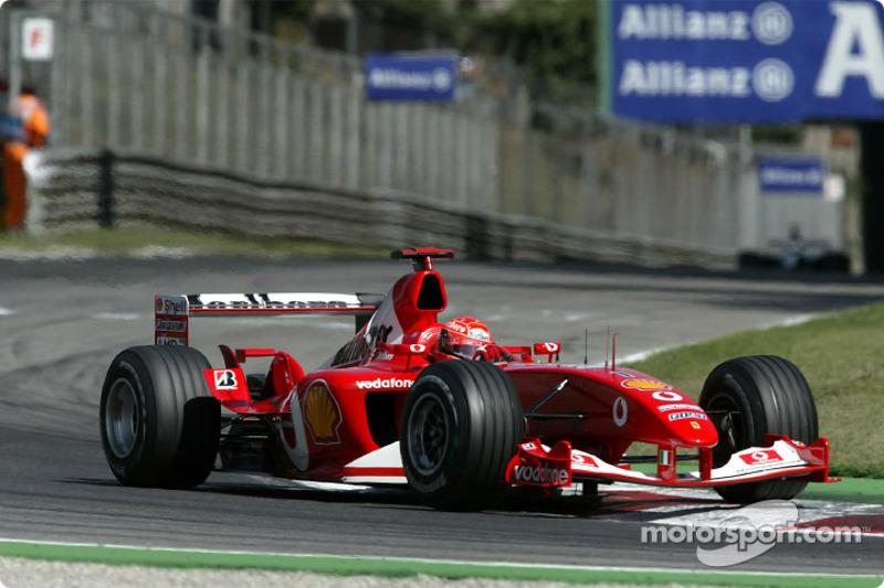 55. Italia 2003, Ferrari F2003-GA