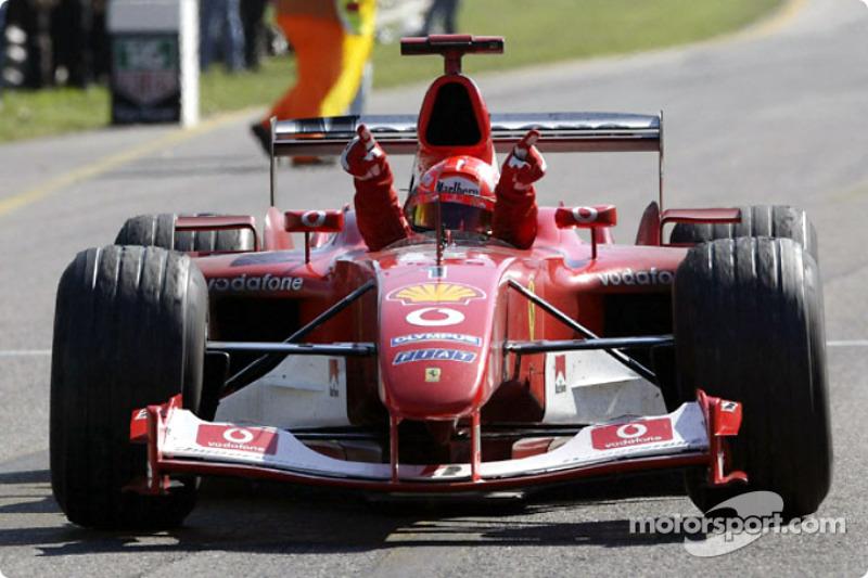 2003. Переможець: Міхаель Шумахер, Ferrari