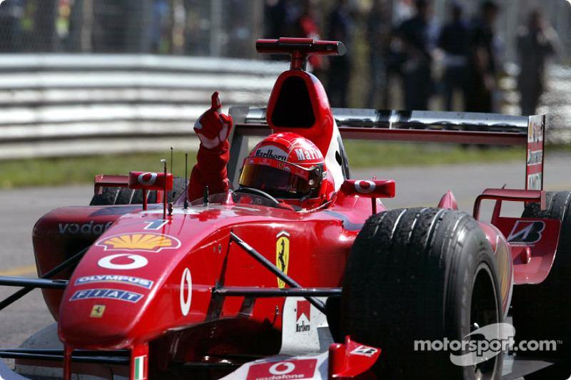 Чаще всех в Монце побеждал Михаэль Шумахер, на счету которого пять побед