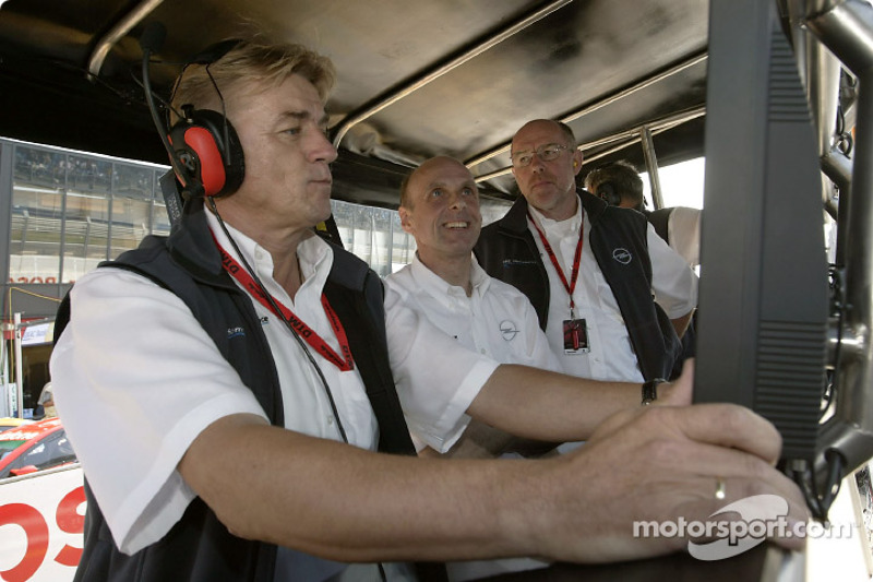 OPC Team Holzer Gunther Holzer, Volker Strycek and Berndt Wiesenhätter