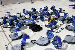Williams-BMW pit crew equipment