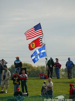 The USA-Ferrari-Jacques Villeneuve fan club