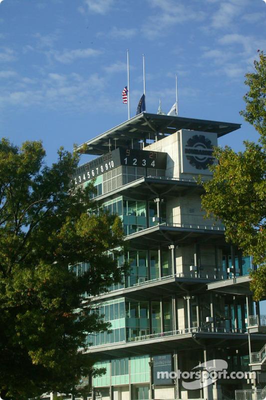 Pagoda en Indianapolis Motor Speedway