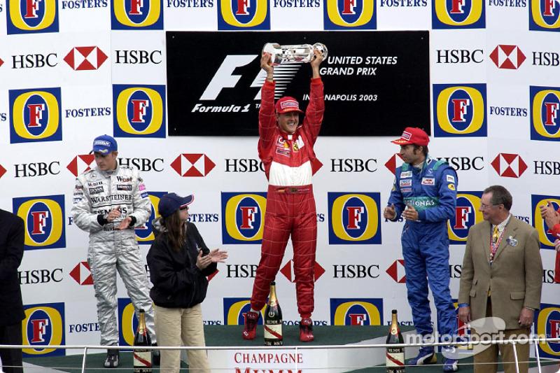 10. GP dos EUA 2003