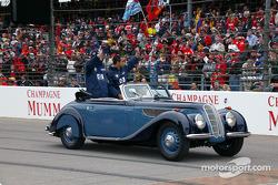 Desfile de pilotos: Ralf Schumacher y Juan Pablo Montoya