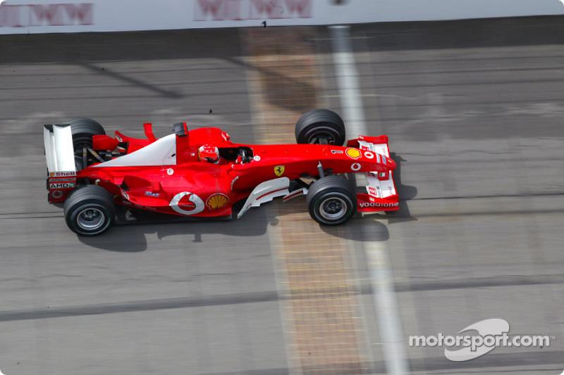 2003 - Michael Schumacher, Ferrari (Galerie)