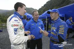 Markko Martin and Petter Solberg