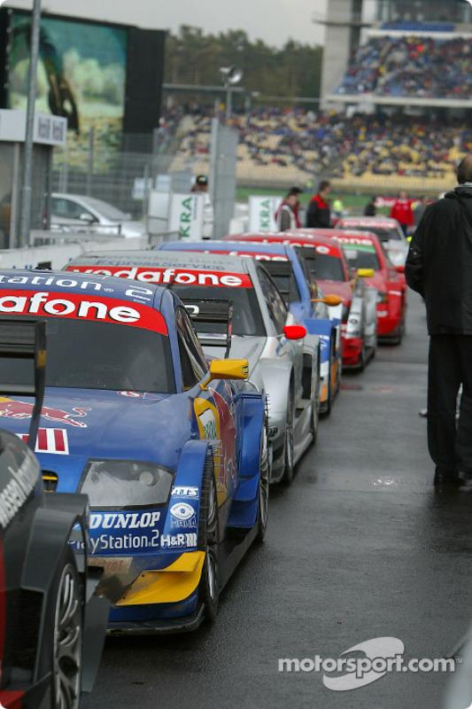 DTM cars