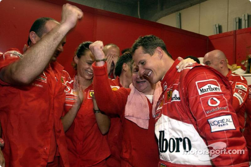 2003: Schumacher voorbij Fangio