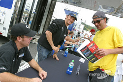 Autograph session: Chad Block and Didier De Radigues