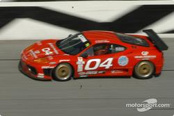 #04 Scuderia Ferrari of Washington Ferrari 360GT: Rusty West, Allie Ash Jr.