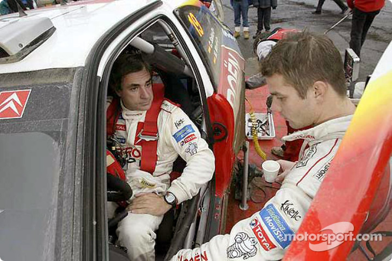 Carlos Sainz y Sébastien Loeb