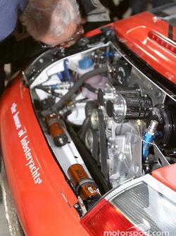#40 Seikel Motorsport Porsche GT3-RS powerplant