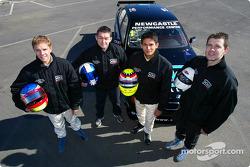 Alan Gurr, Luke Searle, Alex Yoong and Geoff Full