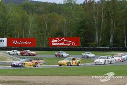 Start: #11 Powell Motorsport Corvette Z06: Devon Powell, Doug Goad leads the field