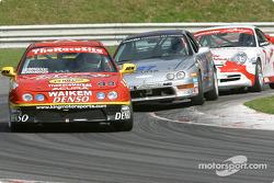 L'Acura Integra LS n°43 de l'équipe HRPworld.com pilotée par Howie Liebengood, Will Nonnamaker
