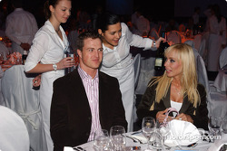 BMW Motorsport party: Ralf Schumacher with his wife Cora