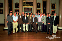 The Brabham-BMW championship winning team of 1983
