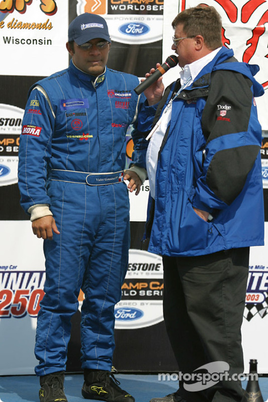 Sur le podium : Victor Gonzalez