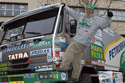 Letka Racing Team presentation in Paris: Tomas Tomecek