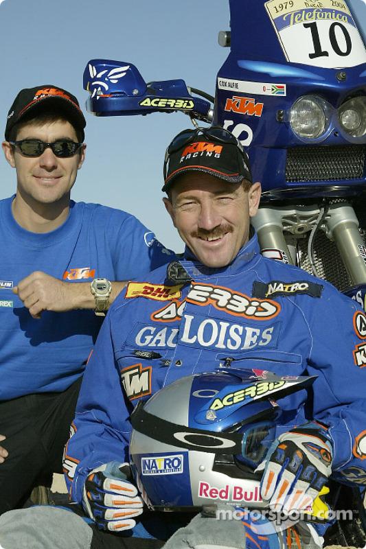 Présentation KTM : Alfie Cox