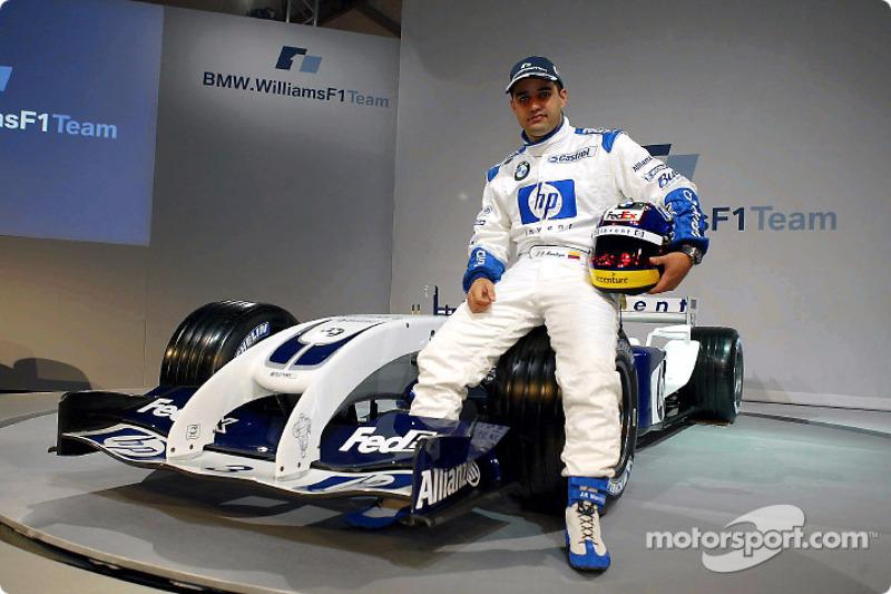 Хуан-Пабло Монтойя з новим Williams FW26 BMW