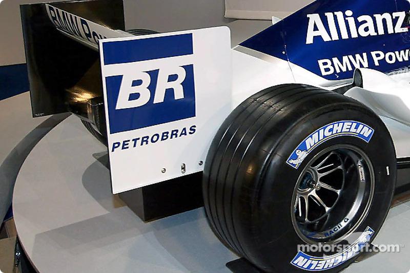 Задня частина Williams FW26 BMW