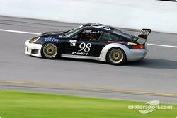 La Porsche GT3 Cup n°98 du team GT Technologies (Marc Feinstein, Bill Riddell Jr., Ron Zitza)