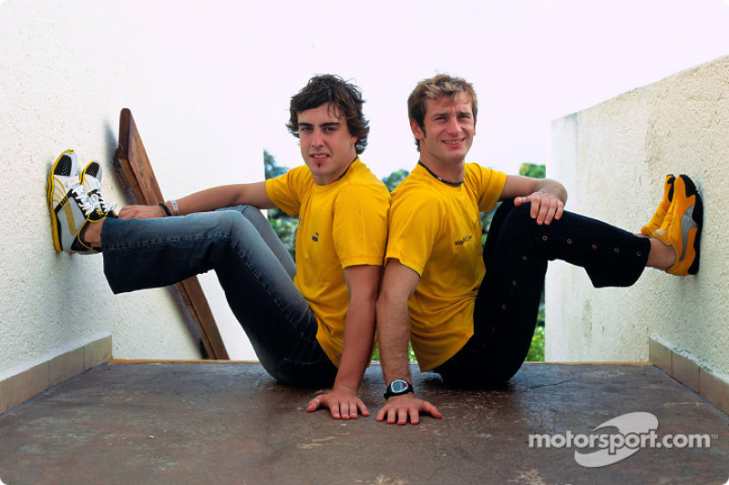 Annonce Renault F1 Team et Puma : Fernando Alonso et Jarno Trulli