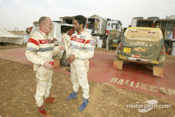 Dominique Housieaux and Nasser-Saleh Al-Attiyah