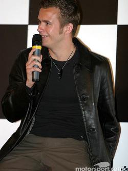 Dan Wheldon interview on Autosport Stage