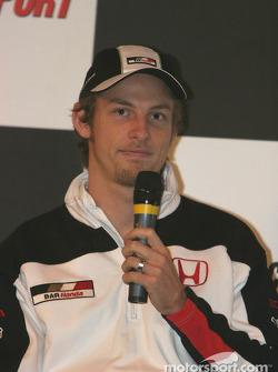 Jenson Button interview on Autosport Stage