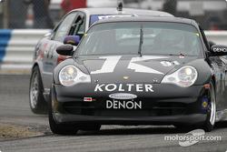 La Porsche 996 n°91 du Doncaster Racing (Kenny Wilden, Robert Julien)