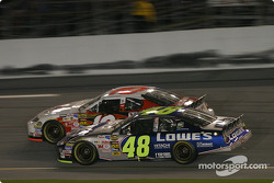 Mike Skinner and Jimmie Johnson