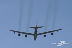 B52 flyover