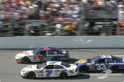 Jimmy Spencer, John Andretti and Mike Skinner