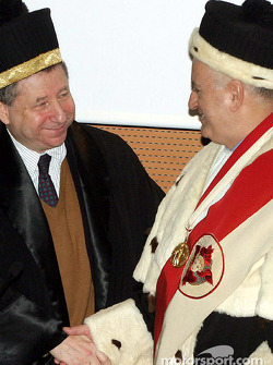 Jean Todt receives ve honorary degree