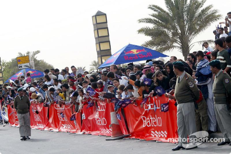 Fans Bahrain