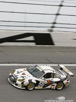 #56 Seikel Motor Sport Porsche GT3 RS: Tony Burgess, Philip Collin, P van Merksteijn, Gabrio Rosa, Fabio Rosa