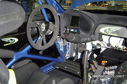 The new Subaru Impreza WRC2004: the cockpit