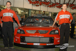 Mitsubishi media event: Gilles Panizzi