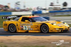 #3 Corvette Racing Chevrolet Corvette C5-R: Ron Fellows, Johnny O'Connell, Max Papis