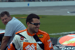 Tony Stewart is happy to qualify