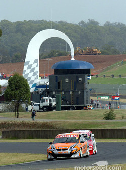 Kiwi Jason Richards driving for Team Tasman this year