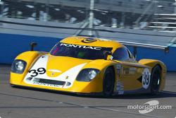 La Pontiac Crawford n°39 du Silverstone Racing (Chris Hall, Larry Huang)