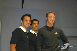 Antonio Pizzonia, Marc Gene ve Ralf Schumacher