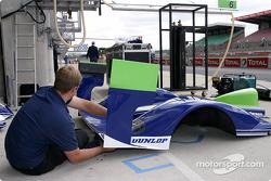 Rollcentre Racing garage area