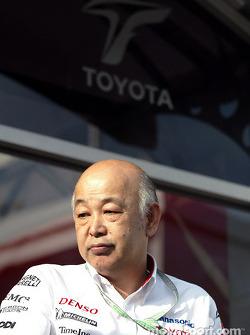 Toyota Vice President Toshiro Kurusu