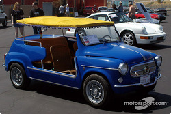 Une Fiat Abarth 750